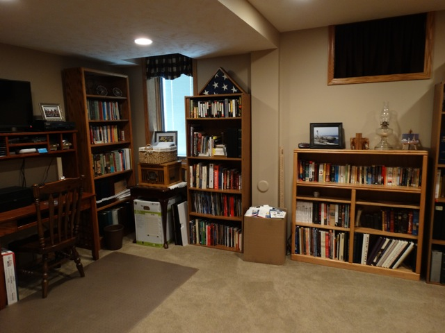 Basement Office After