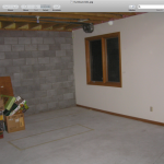 Basement Kitchen Before